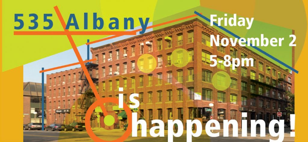 2018 Albany Artists poster image